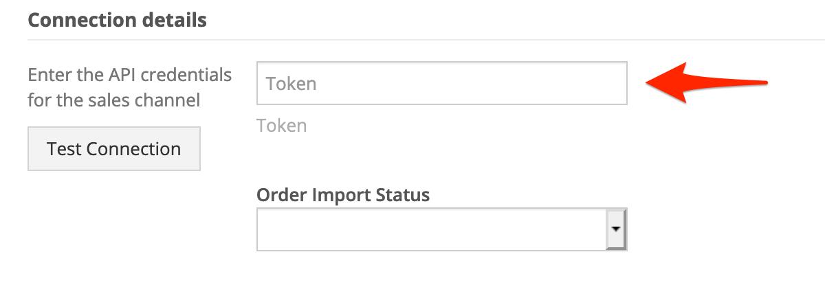 Enter your SOS Inventory Token.