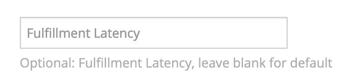 Amazon Marketplace fulfillment latency