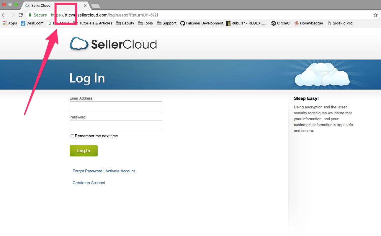 Sellercloud Server ID